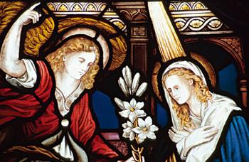 Annonciation à la Vierge Marie