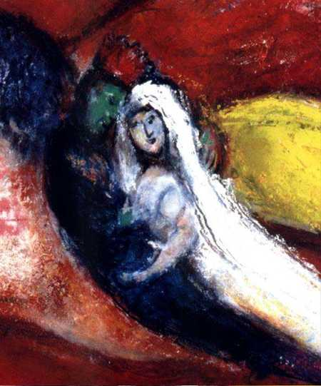 Cantique des cantiques2- Marc Chagall