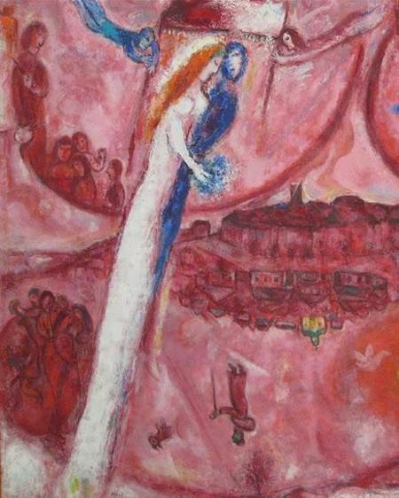 Cantique des cantiques4- Marc Chagall