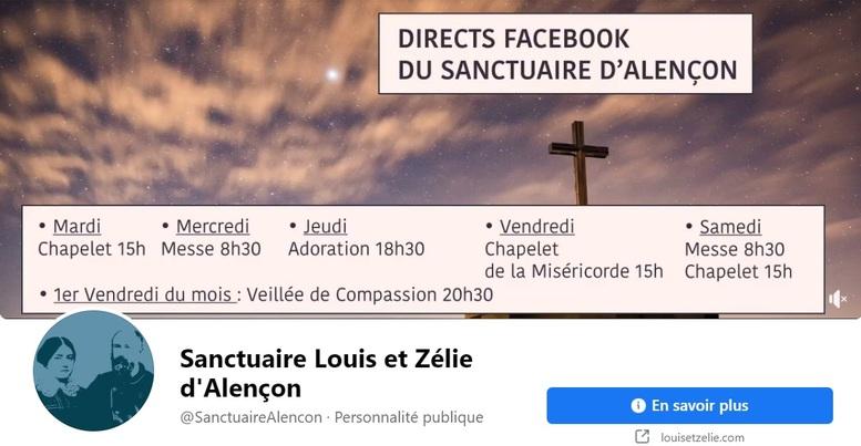Horaires des offices du sanctuaire Louis et Zélie Martin d'Alençon