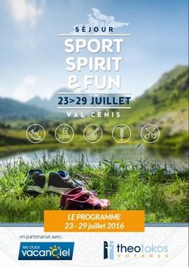 Programme Sejour Celibataire Valcenis2016